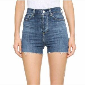 Alexa Chung x AG Fifi High Waisted Shorts